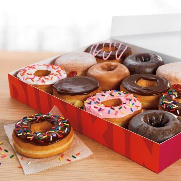 Dunkin' Donuts Menu Photo