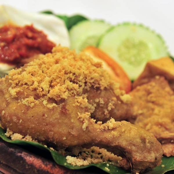 Ayam Penyet President Menu Photo